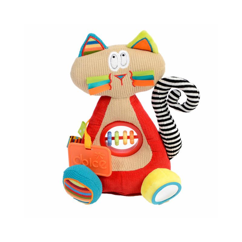 Dolce edukativna igračka - Sijamska maca 28 cm