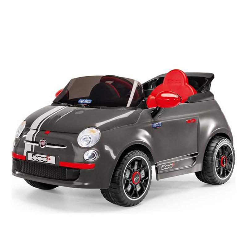 AUTO NA AKUMULATOR (6V) - FIAT 500 S GRIGIO ED1171