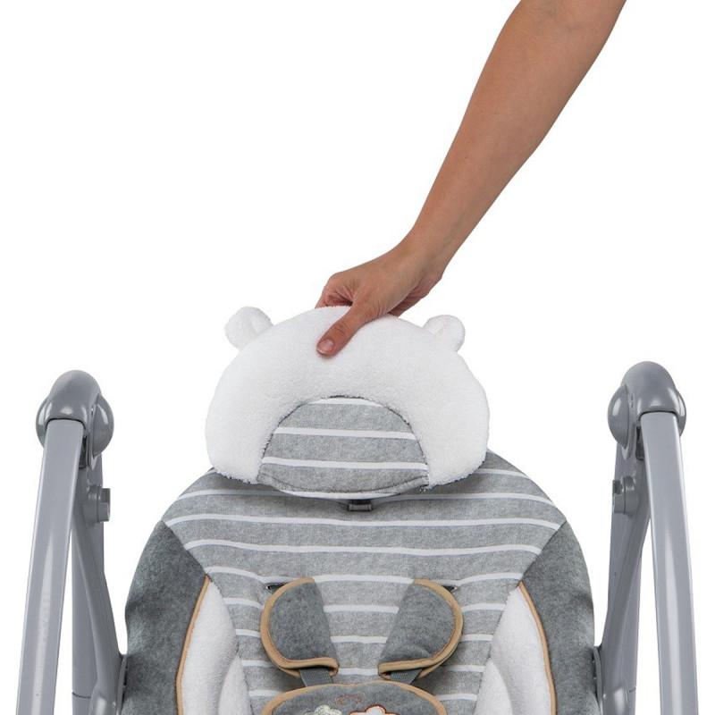KIDS II Ingenuity Ljuljaska Boutique Collection Swing 'n Go Portable - Bella Teddy 11023